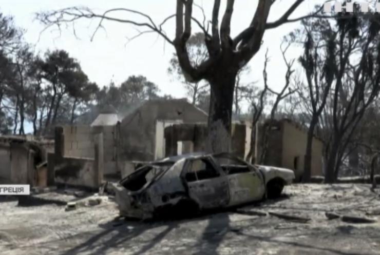 Пожежі в Європі: туристів та місцевих продовжують евакуйовувати
