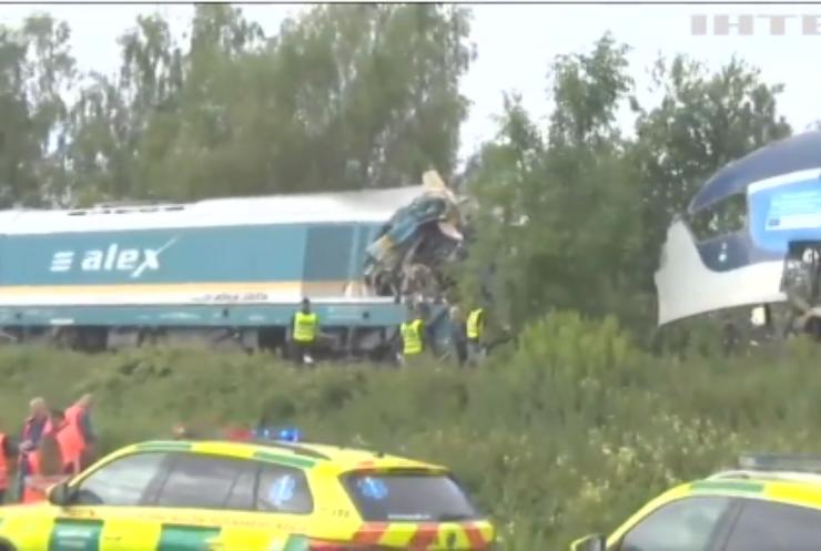 У Чехії зіткнулись два пасажирські потяги: є загиблі