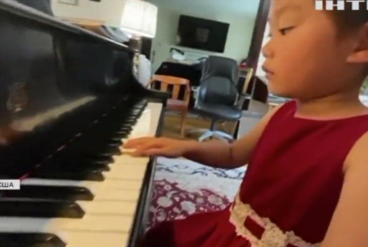 Музичний геній: у США чотирирічна піаністка буде підкорювати Карнеґі-хол