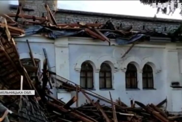 Непогода в Україні: майже пів тисячі населених пунктів знеструмлені
