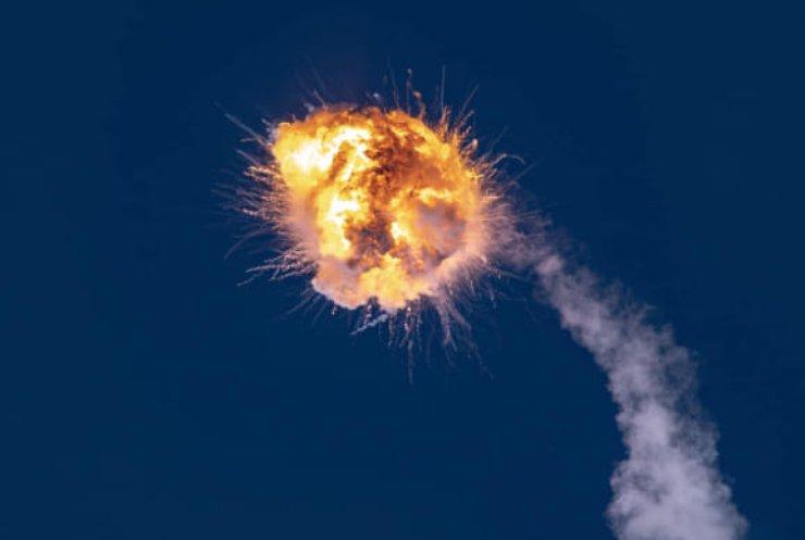 Пуск українсько-американської ракети завершився вибухом