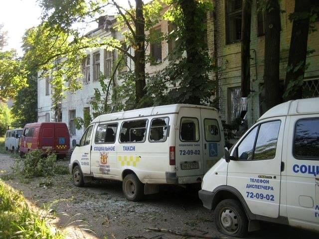 В Луганске от обстрела пострадало здание филармонии (ФОТО), фото-2