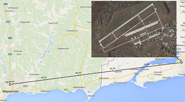Украинские СМИ: В Таганрог прибывают российские военные самолеты с военными и вооружением