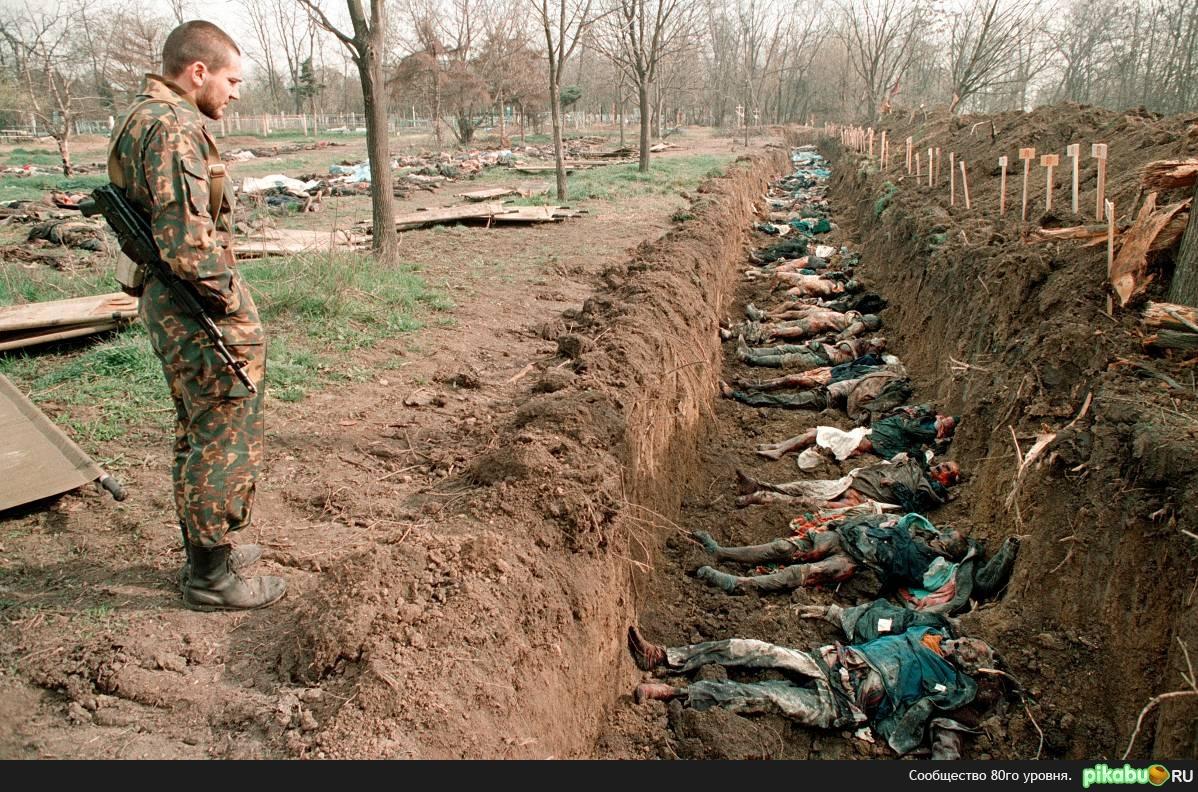 Чечня страшные кадры во время войны