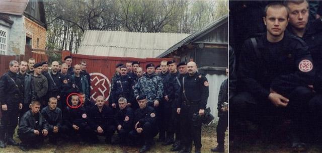 Павел Губарев, член неонацистской организации