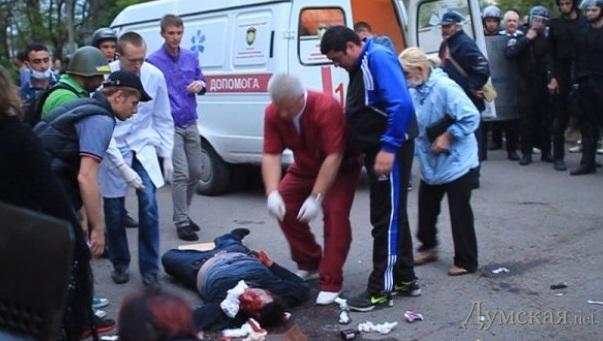 """""""Выкрикивание антиукраинских лозунгов, георгиевские ленточки и раздача листовок"""", - полиция задержала 14 человек в Одессе - Цензор.НЕТ 7717"""