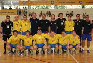 Сборная украины по мини футболу