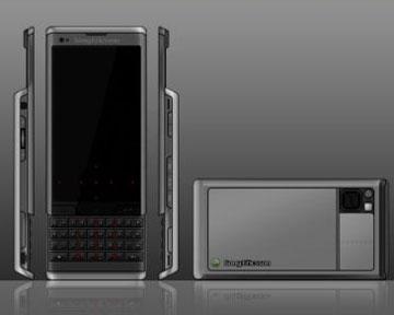 Смартфон Sony Ericsson Hikaru. Фото Сoncept-phones.com