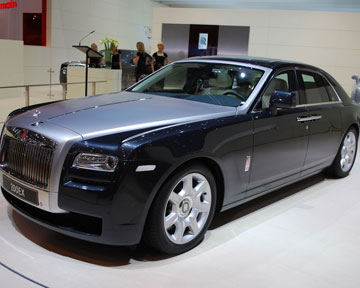 Лимузин Rolls-Royce 200EX. Фото Аutoblog.com