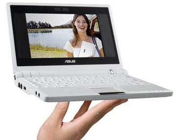 В настоящее время Asus выпускает около 20 моделей нетбуков семейства Eee PC. Фото Nbprice.ru