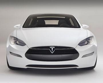 Новая модль компании Tesla. Фото Тeslamotors.com