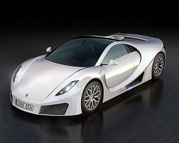 Коцепт-кар испанской компании GTA Motors. Фото Icars.sg