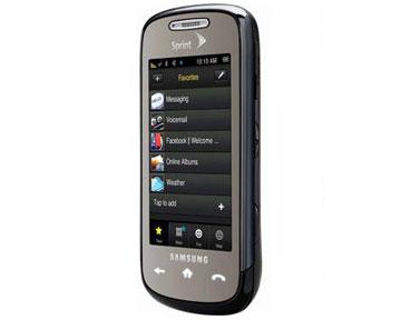 Мобильный телефон Samsung Instinct S30. Фото Сompulenta.ru