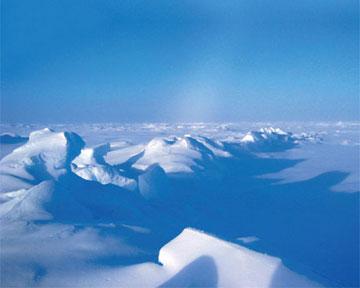 Больше всего льдов сохранится у северных границ Канады и Гренландии. Фото sciam.ru