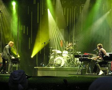 Выступление группы Keane. Фото Wikipedia.org