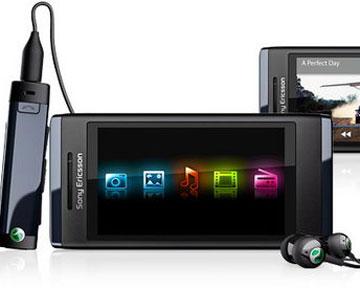 Мобильный телефон Sony Ericsson Aino. Фото Лента.ru