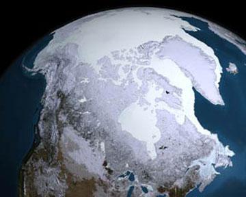 Льды Арктики скрывают углеродную