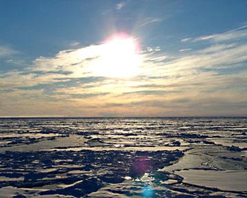 Северный Ледовитый океан образовался почти мгновенно