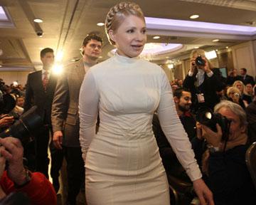 Юлия Тимошенко ушла в оппозицию