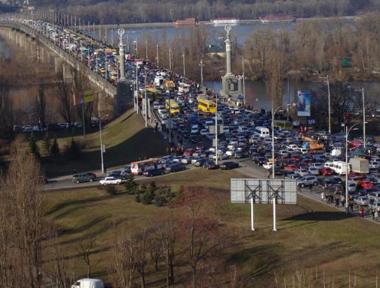 Пробки: Киев почти как Москва