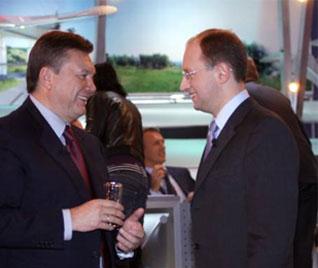 Яценюк предложил Януковичу временную коалицию