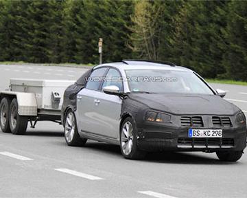 Шпионы рассекретили новый VW Passat