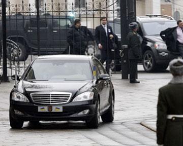 Янукович теперь ездит без заторов - ГАИ
