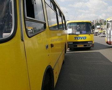 ГАИ: Каждая пятая маршрутка в Киеве неисправна