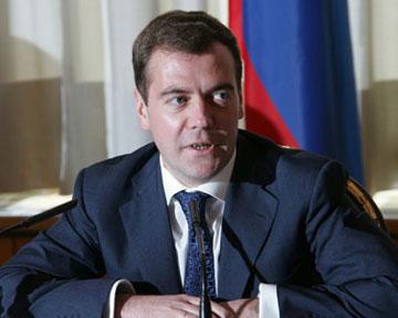 """Медведев припомнил Ющенко """"хамство по полной программе"""""""