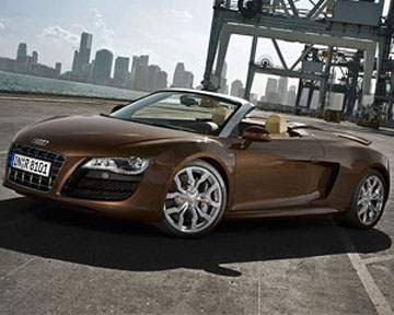 """Audi  разрабатывает """"доступную"""" версию спайдера R8"""