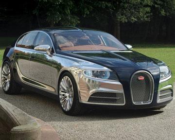 В самый дорогой седан Bugatti будет установлена ОС Windows