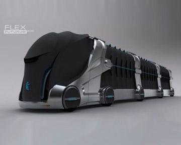 KAMAZ Flex Futurum - свежая идея для российского автопрома