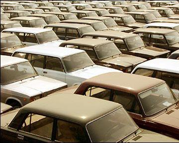 В России наблюдается 65% рост производства автомобилей