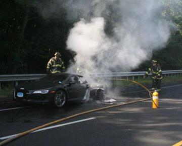 Сорвавший джек-пот американец едва не сгорел в своем новом спорткаре