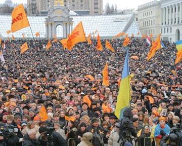 «Оранжевая революция» исчезла