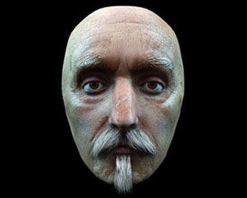 Воссоздана внешность Шекспира по посмертной маске