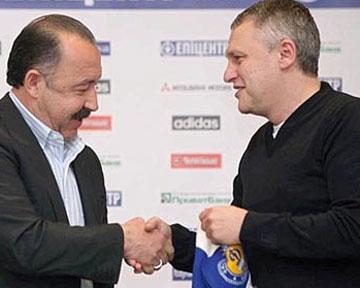 Суркис принял отставку Газзаева