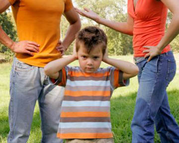 разведённые родители
