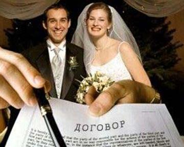 институт брачного договора в Украине