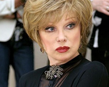 Людмила Гурченко умерла на 76-ом году жизни