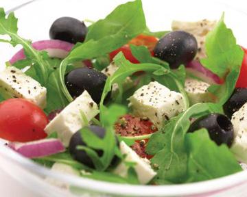 Сегодня на повестке дня - салат греческий.