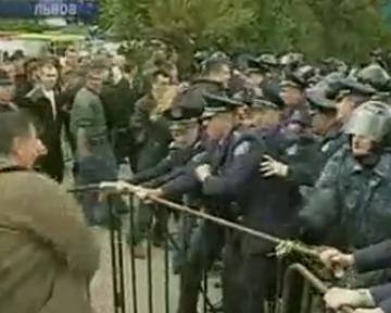 В МВД уверены, что провокации во Львове были только со стороны