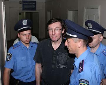 Луценко добрался до Печерского суда
