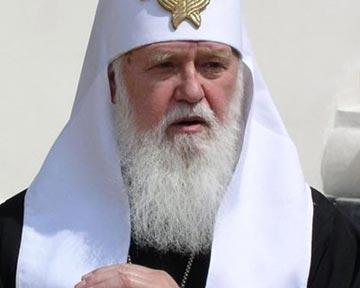 Патриарх Филарет просит Януковича возлюбить Тимошенко как самого себя