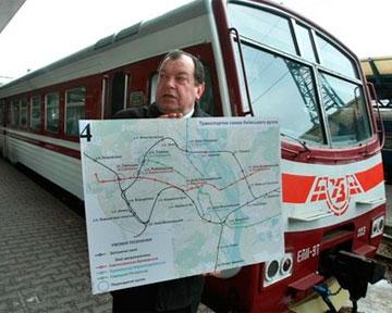 31 августа в 14:00 состоится запуск первой городской электрички соединением станция Троещина - станция Киев-Петровка...