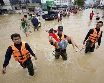 Столицу Таиланда затапливает. Государство принимает любую помощь