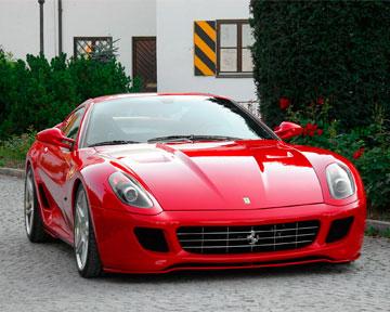 Приемник Ferrari 599 GTB Fiorano.