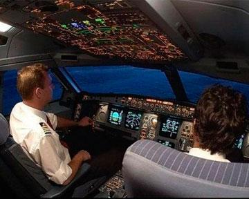 Вид из кабины пилота (14 фото)