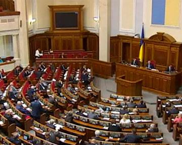 В повестке сессии депутаты планируют рассмотреть законопроект о выборах в четверг
