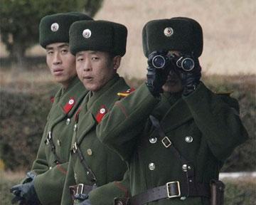 Армия южной кореи приведена в боевую